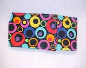 Male Dog Belly Band Diaper Wrap  Pet Panties Cotton Panty Neon Circles Fabric Custom Sizes To 30""