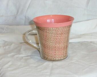 Vintage Raffiaware Coffee Mug