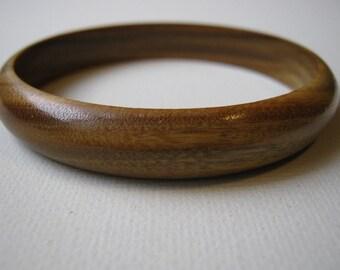Lignum Vitae Bangle Bracelet