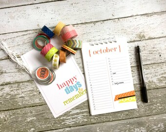 Perpetual Wall Calendar . List Book . Birthday Anniversary Calender . Fitness Dreams Baby Gratitude Journal Notebook . Important Happy Dates