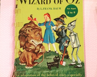 1931 Wizard of Oz Book Wicked