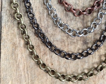 Build Your Own Necklace, Choose Your Chain, Chain Option, Assorted Chain, Extra Chain, Necklace Add On, Chain Add On, Necklace Option