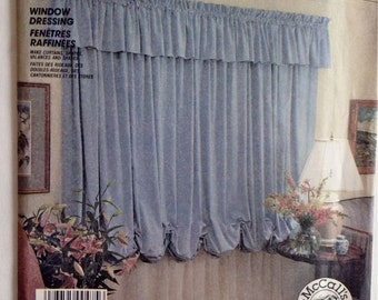 Window Dressing Instructions - McCall's Crafts No. 2861