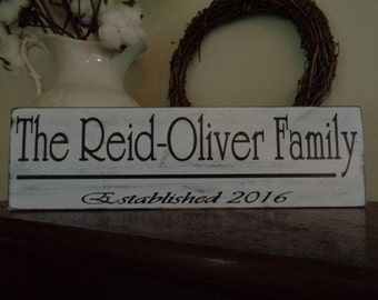 Family Name Sign, Personalized Signs,Door Signs, Custom, Reclaimed Wood Signs, Farmhouse Signs, Rustic Signs, Wall Hangings, Wall Decor,