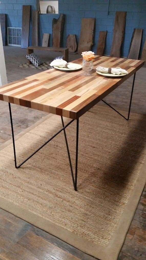 Reclaimed Wood Table Solid Reduced Price Wood Table Dining