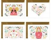 Christmas greetings cards - holiday greetings card- holiday card - greetings cards