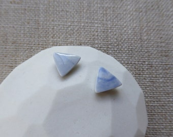 Ink Marble Small Mountain Studs