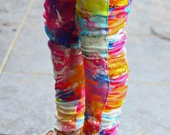 Sew Like My Mom Peony Leggings PDF pattern 12m - 8