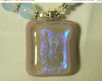 On Sale Opalite Necklace with Pendant