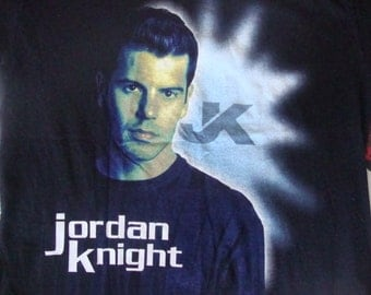 Vintage Jordan Knight of new kids on the block 90's concert solo tour T Shirt M