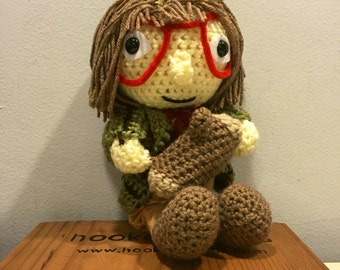 Crochet Log Lady Twin Peaks