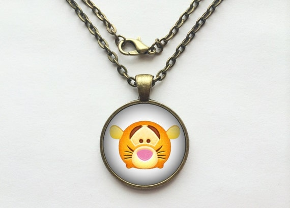 Tigger from Winnie the Pooh Tsum Tsum Necklace or Keychain