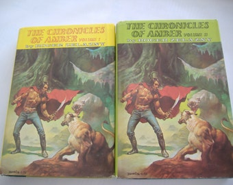 The Chronicles of Amber, Volume I and Volume II by Roger Zelazny