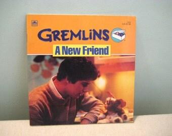 Vintage Gremlins A New Friend Book
