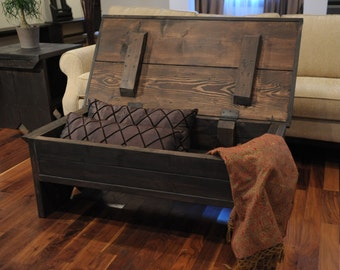 Coffee table with storage / Coffee table trunk / trunk