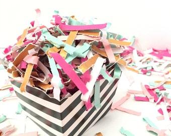 Custom Color Confetti for Party Favors, Confetti for Photo Props, Gift Wrap Confetti, You Choose the Colors Festive Fetti