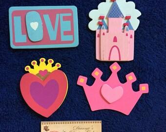 Princess Outlet Socket Plug Covers Girls Baby Nursery Kids Room Decorations