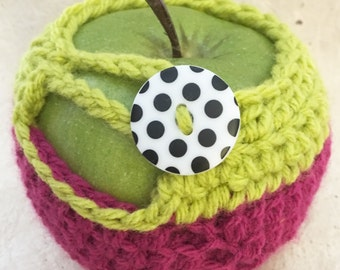 Colorful Apple Cozy, Apple Sweater