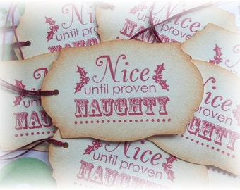 Nice until proven Naughty - Naughty or Nice Tags (8)