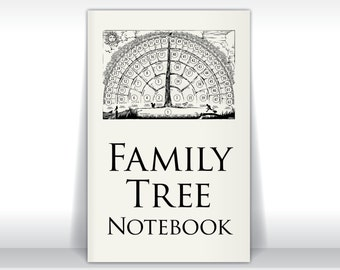 Family tree notebook ebook pdf fill in blank template gifts for Ancestry book templates