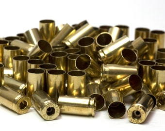 9mm Winchester Field Brass Cases De-Primed and Polished 250 Count