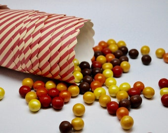 BULK SALE Treat Cup - Red Hot Stripes Favor Cup - QTY 120 - Circus Party - Wedding favor - Candy Bar - Dessert Bar - carnival party - circus