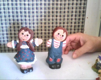 set of raggedy ann and andy