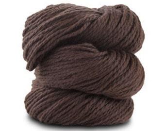 Organic Cotton Yarn Worsted, 150 Yards, Toffee