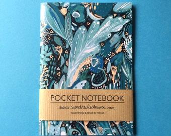 Notebook, Jotter, Mini Sketchbook | Night Shades