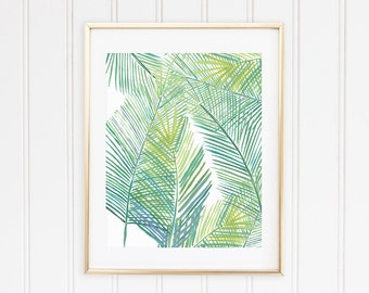 Tropical Fern Print