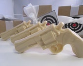 3 Gun Soap  - gifts for husband, stocking for man, gifts for him, valentines for boyfriend, cream gun