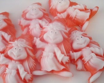 40 Witch Halloween Soap -  halloween party favor, witch birthday, orange halloween soap favor