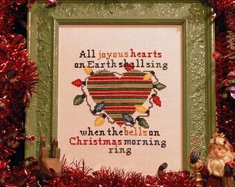 My Christmas Heart PDF Cross Stitch