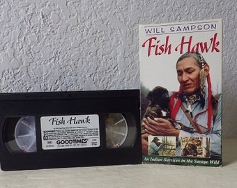 VHS Movie: FISH HAWK. 1994. Tested-works