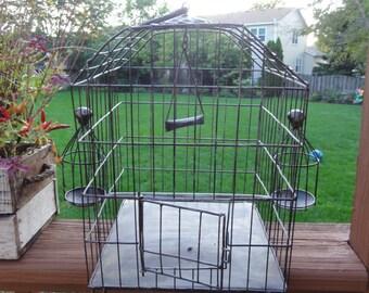 Vintage bird cage- SALE