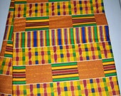 Traditional Kente #1 African Fabric by the yard/ Kente prints/ Kente fabrics/ Ghana Kente/ Africa