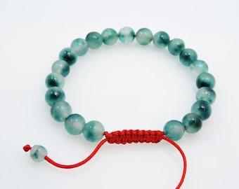 Tibetan mala fluorite Wrist mala bracelet yoga meditation prayer bead