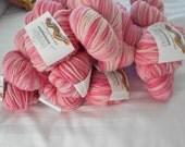 hand painted yarn pink varigated yarn cascade  220 yarnSALE