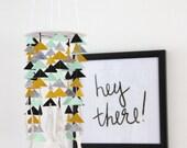 Arrow Baby Mobile- Custom- U Pick Colors- Tribal Chic
