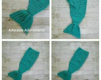 Mermaid tail blanket, Mermaid Blanket, Little Mermaid Tail, Mermaid tail fin blanket, Mermaid of the sea, Toddler Mermaid Blanket, On Sale