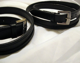 Empty Channel Equestrian Belt For Beading