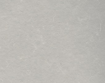 Warm Grey Cotton Handmade Paper 11x14 - Fine Art Paper