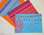 Day of the Dead Wedding Save the Dates