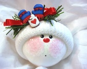 Winter Mittens Christmas Ornament Mittens and Hot Chocolate Hand Painted and Themed by Townsend Custom Gifts