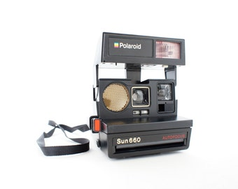 Polaroid Camera Sun 660 Autofocus - Film Tested Working