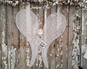 Reserved for La Donna-Antique Style French Nordic Wire Angel Wings