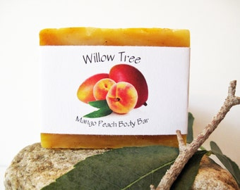 Mango Peach - Natural Bath & Body Bar