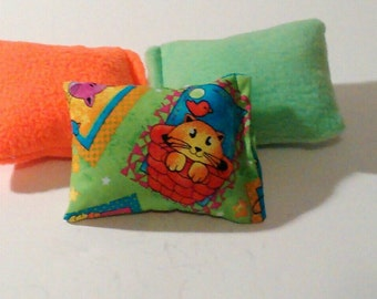 Catnip Mini Kicker Pillow Cat Toy Set of 3