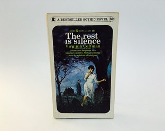 Vintage Gothic Romance Book The Rest Is Silence by Virginia Coffman 1967 Paperback