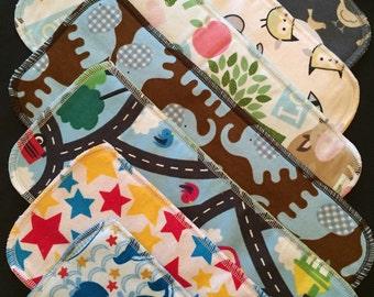 Cloth Diaper Inserts, Diaper Doublers, Gender Neutral 12 Pack, Diaper Soakers